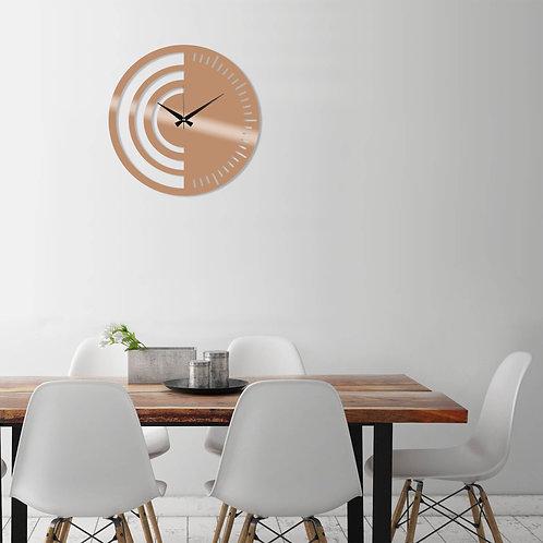 Metal Wall Clock 8 - Copper
