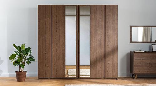 Zen 6 Doors - Walnut