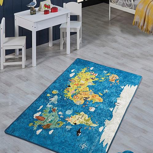World Map (140 x 190)