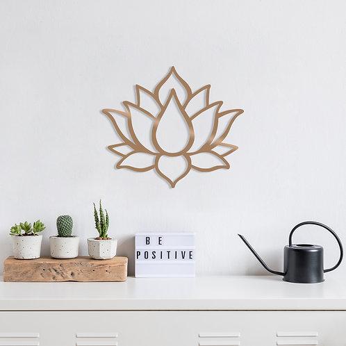 Lotus Flower 1 - Copper