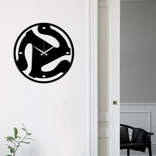 Metal Wall Clock 5 - Black