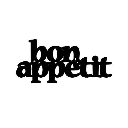 Bon Appetit 2 - Black