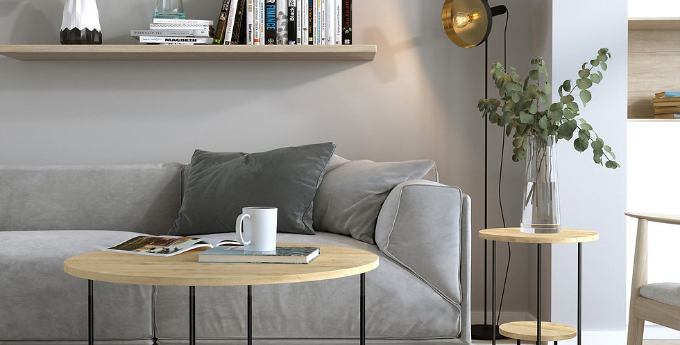 Corro Coffee Table - Oak