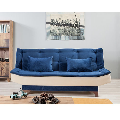 Kelebek - Blue, Cream