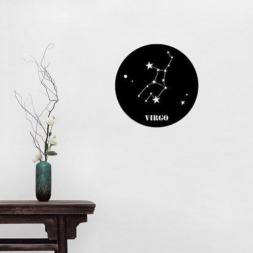 Virgo Horoscope - Black