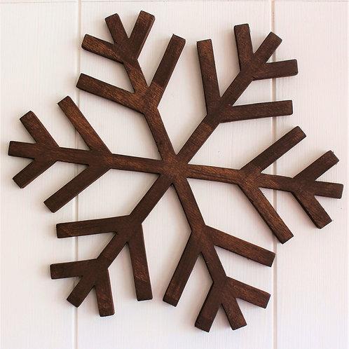 Snowflake - Walnut