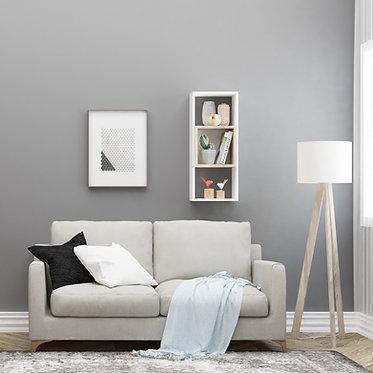 Kamelya - White, Oak