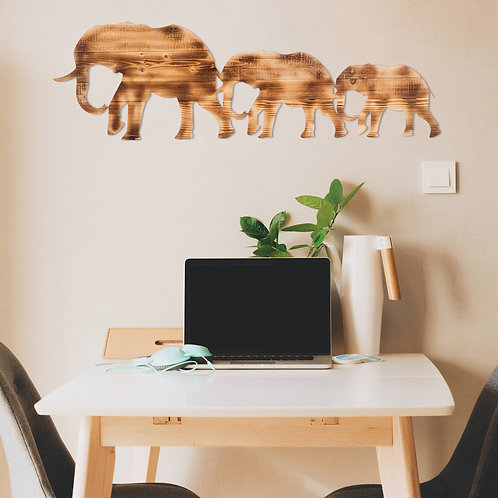 Elephant Family - Walnut