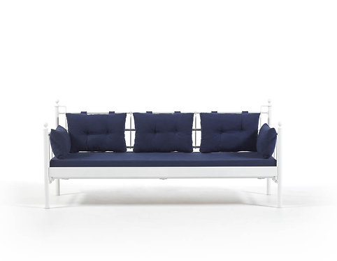 Lalas DKS - White, Dark Blue (90 x 200)