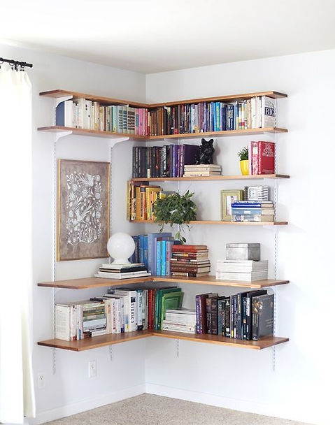 Bookshelf Collection - Wooden Art