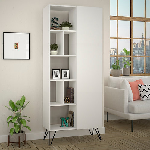 Jedda Bookcase - White