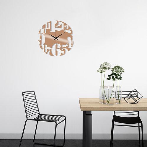Metal Wall Clock 1 - Copper