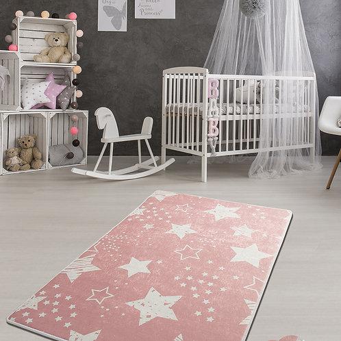 Stars - Pink (140 x 190)