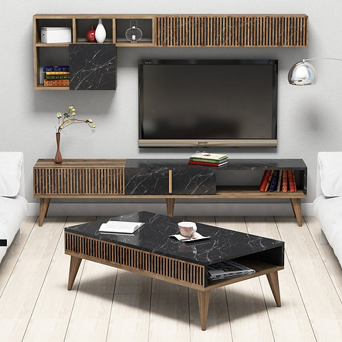 Milan - Walnut, Black