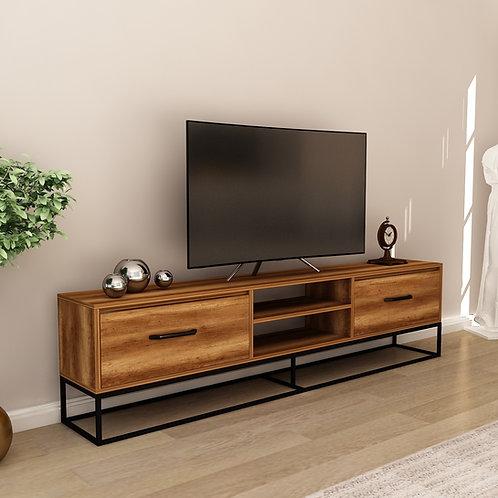 Modern Feza tv 140 cm - Walnut