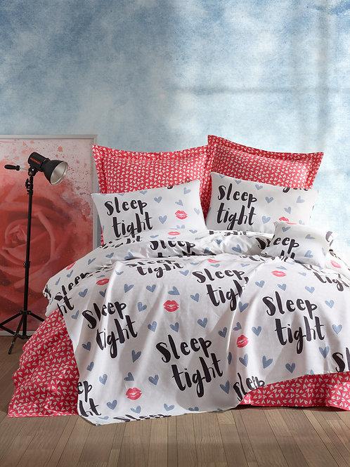 SleepTight - Fuchsia, White