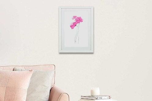 Watercolor Pink 1
