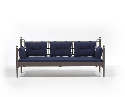 Lalas DKS - Brown, Dark Blue (70 x 200)
