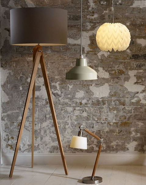 Floor Lamp Collection - Wooden Art
