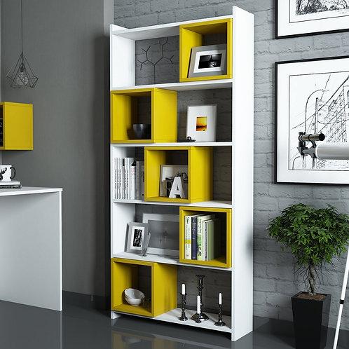 Box - White, Yellow