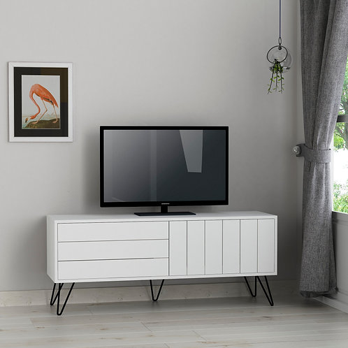 Picadilly Tv Stand - White