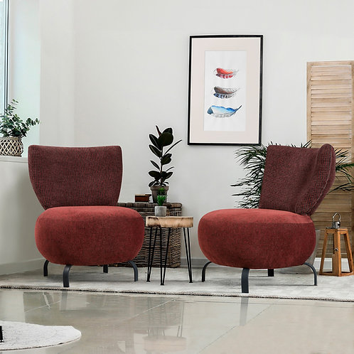 Loly - Claret Red