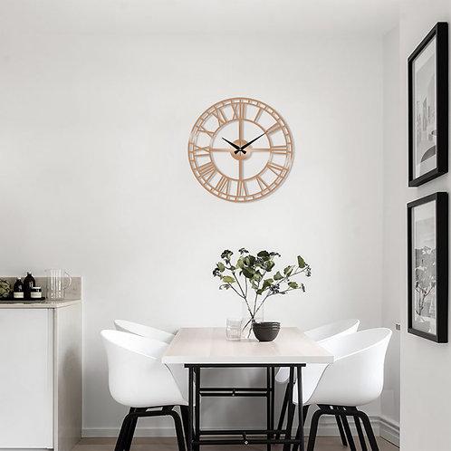 Metal Wall Clock 2 - Copper
