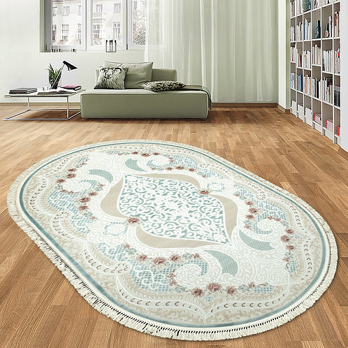 4852A Oval - Turquoise