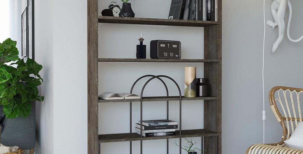 Norfolk Bookcase - Dark Coffee