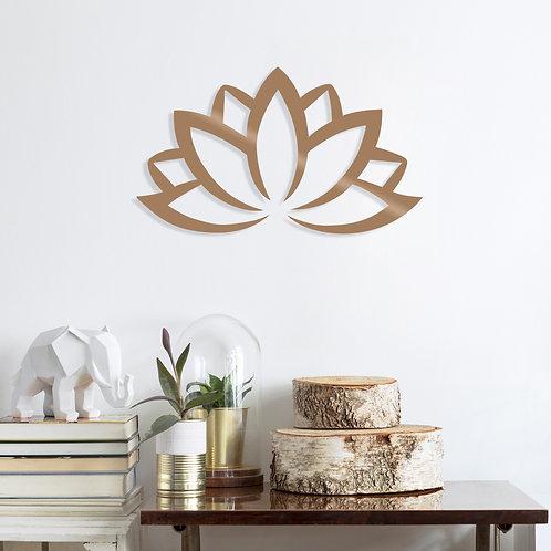 Lotus Flower 2 - Copper