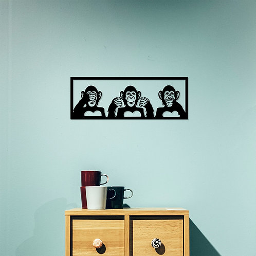 Three Monkeys - S
