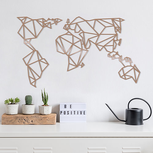 World Map2 - Copper