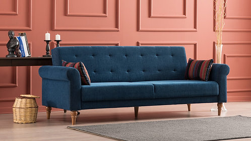 Madona Sofa Bed - Dark Blue