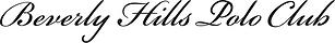 Beverly Hills Polo Club Handwrite Logo