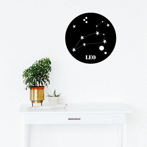 Leo Horoscope - Black