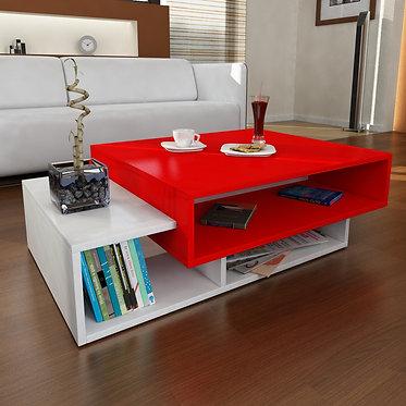 Tab - White, Red