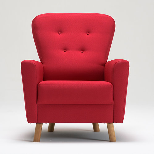 Lucky Bergere - Red