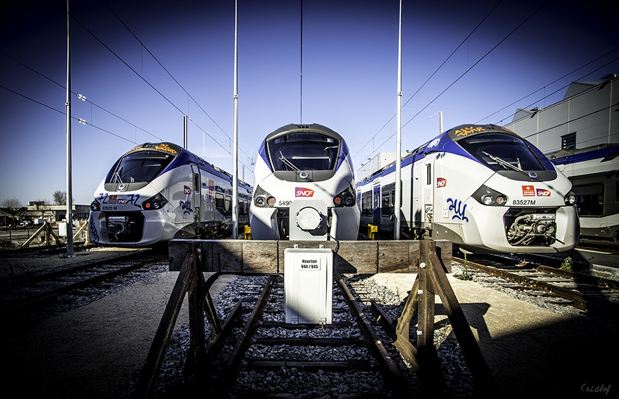 Rames Regiolis SNCF