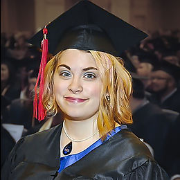 Ashley ML Studios Photographer and Owner portrait at graduation