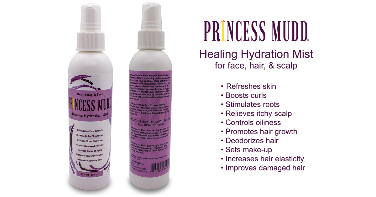 Aloe Vera Healing Hydration Mist for Face, hair and Scalp | Dreadlocks, Stimulate roots, rejuvenate curls, deoderize hair, refresh skin, set makeup, improve hair elasticity