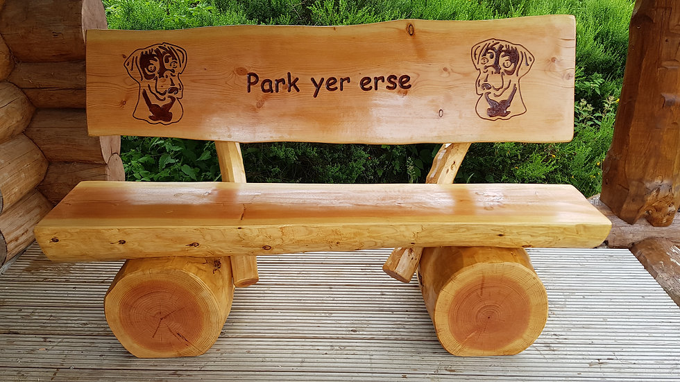 Classic bench standard size 5ft long with back rest