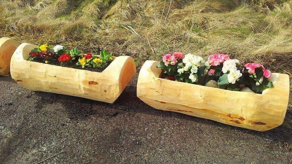 Flower planter 3ft long