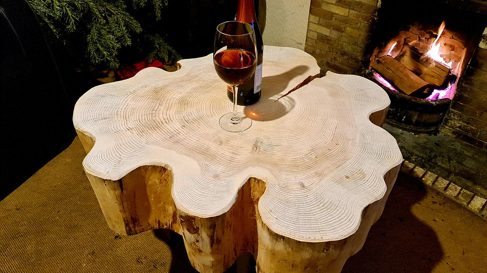 Scots pine coffee table