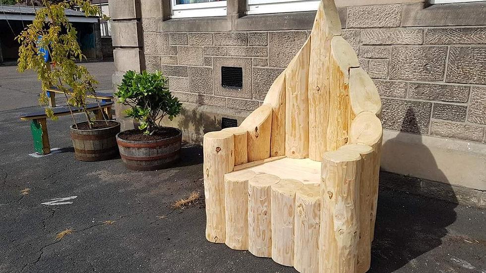 Santa Claus bench 1m wide 1.8m H