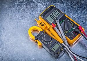 Digital clamp meter electric tester mult