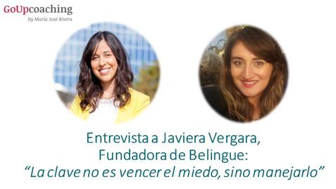 """Entrevista a Javiera Vergara: """"La clave no es vencer el miedo, sino manejarlo"""""""