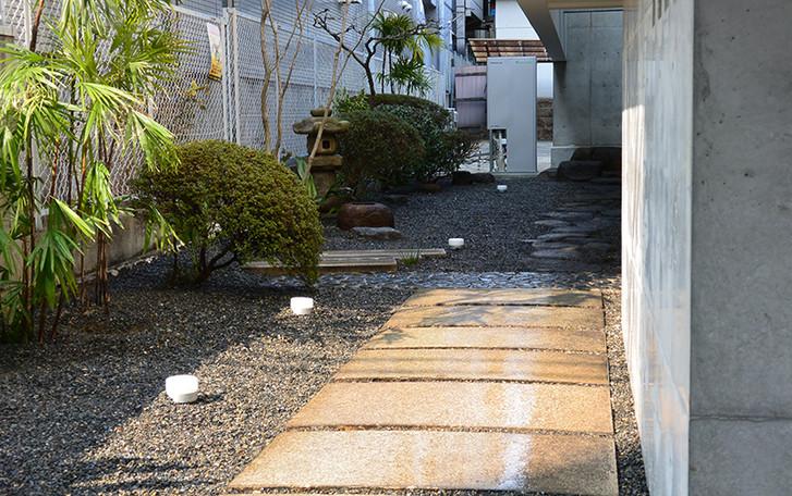 清水谷の庭