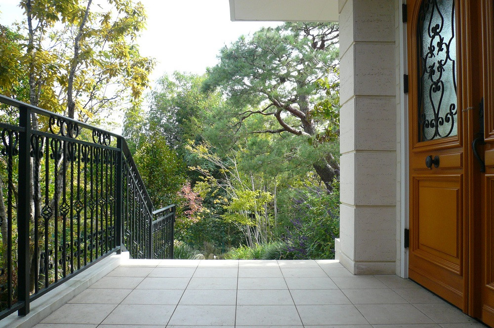 六麓荘の庭