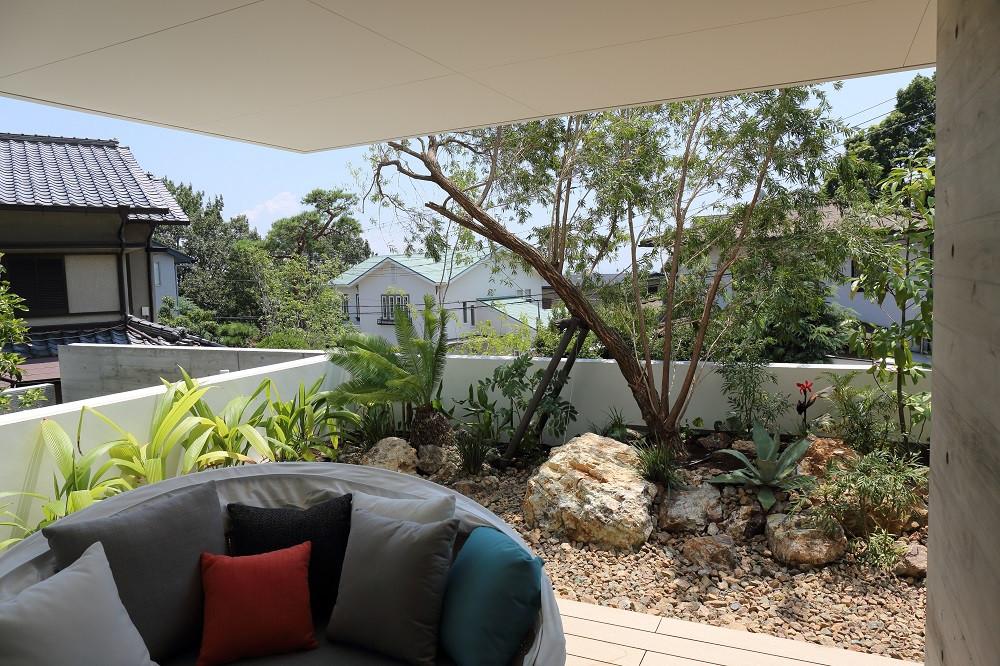 芦屋の庭1