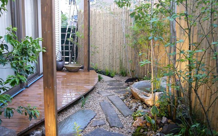 四条畷の庭
